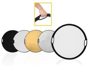 CowboyStudio, 5-1 Portable Grip Reflector With Handles